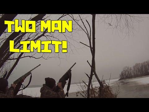 January 23, 2016 Kansas Duck Hunt | 2 Man Limit!!