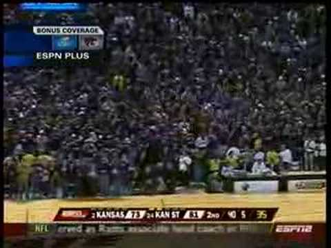 K-State vs. KU 2008: The streak ends! Video