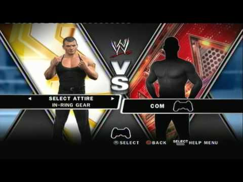 WWE Smackdown Vs Raw 2010 Unlockable Superstars + Diva's
