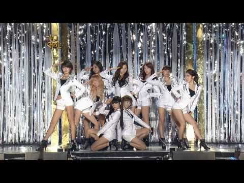 SNSD - Gee Pajamas & Genie Sexy Remix 3/4 09 Gayo Fest.S Dec29.2009 GIRLS' GENERATION Live 720p HD