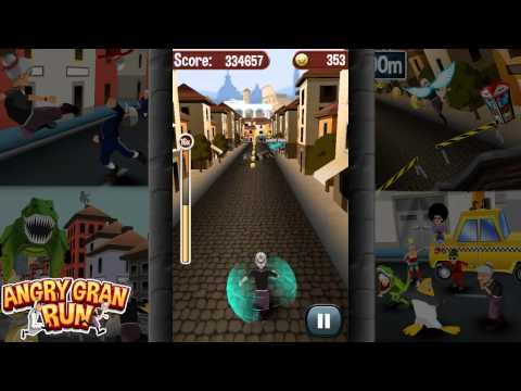 Angry Gran RunGameplay footage from our wacky new game Angry Gran Run