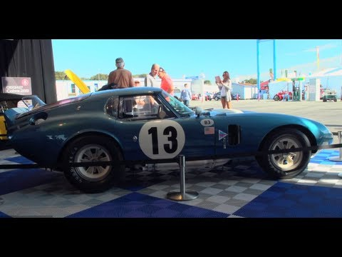 Pebble Beach 2012: Shelby Cobra Tribute - Jay Leno's Garage