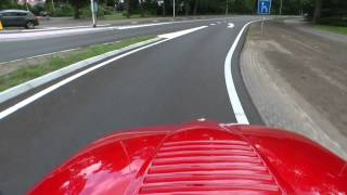 1990 Alfa Romeo SZ (Sprint Zagato | 'Il Mostro') Full HD action video with fantastic engine sounds!