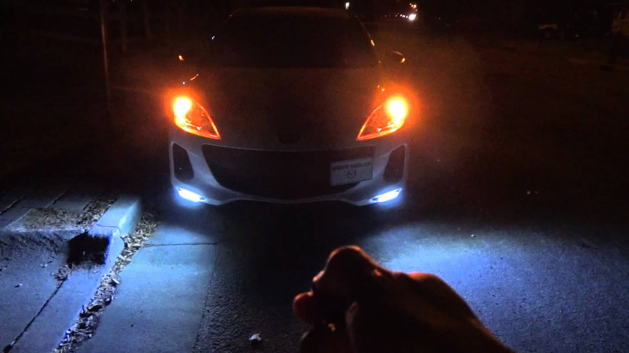 Mazda 3 Drl And Mirror Led Turning Lights Youtube
