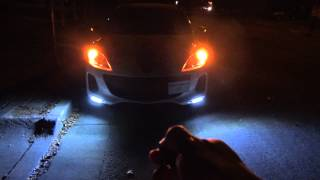 Mazda 3 DRL and Mirror LED Turning Lights