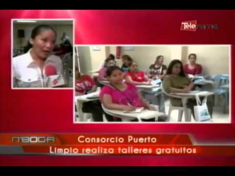 Consorcio Puerto Limpio realiza talleres gratuitos