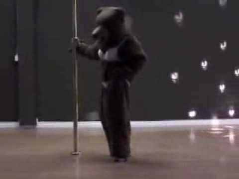 Sexy Pole Dance Bear