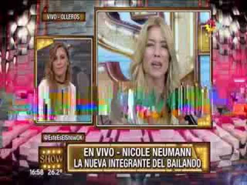 El caprichito de Nicole Neumann para participar en el Bailando