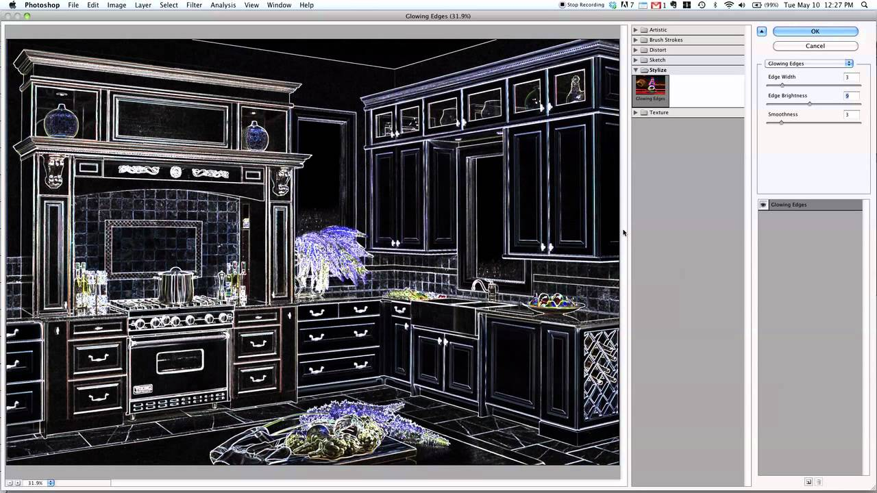 Photoshop Tutorial Convert A Photo Into An Architectural