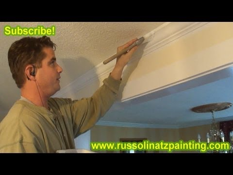 DIY How to Paint & Prepare New Crown Molding (Part 7)