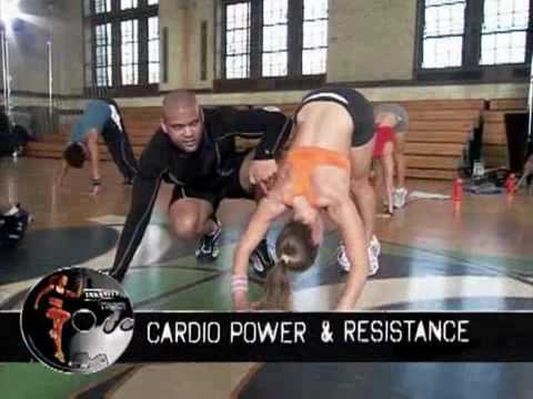 Insanity (Body Transformation in 60 Days) with Shaun T (2 of 2)