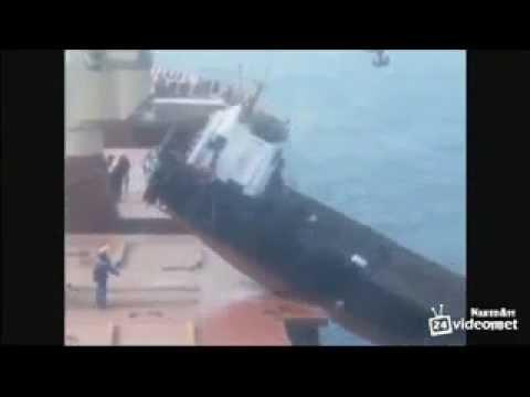 Утопили судно