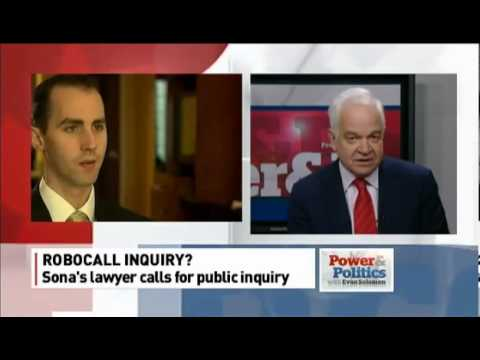 "ConMP ""tread lightly"" to NDP MP discussing robocall charge CBC April 3, 2013"