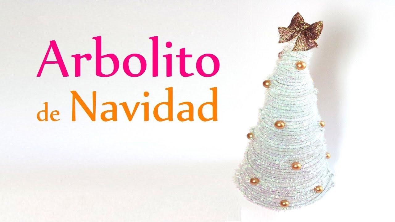 Manualidades para navidad arbolito de navidad adornos - Videos de manualidades para navidad ...