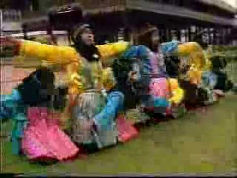 Traditional Dance From Achehnese Girl (indonesia) Tari Saman video