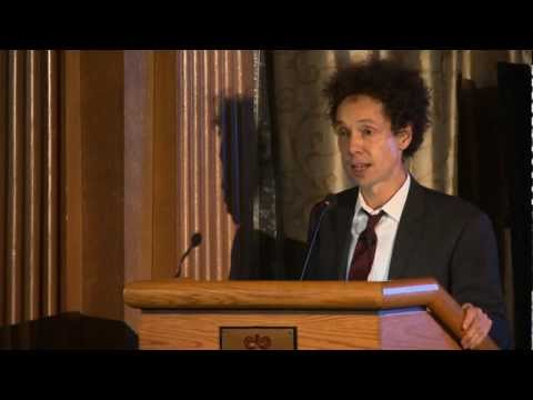 Malcolm Gladwell Part 1 - November 28, 2011 - Bon Mot Book Club