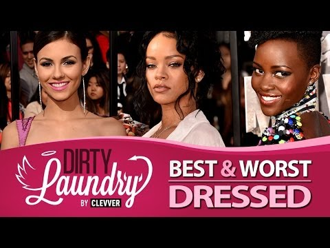 Best and Worst Dressed MTV Movie Awards 2014 - Dirty Laundry