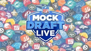 2017 NFL Mock Draft Live FULL SHOW | All 32 Picks! | NFL