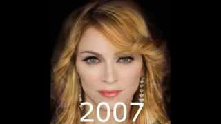 Madonna Video - Madonna Face Morph (1982 - 2014)