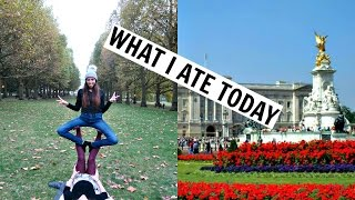LONDON What I Ate/Did Today! UK Travel Vlog