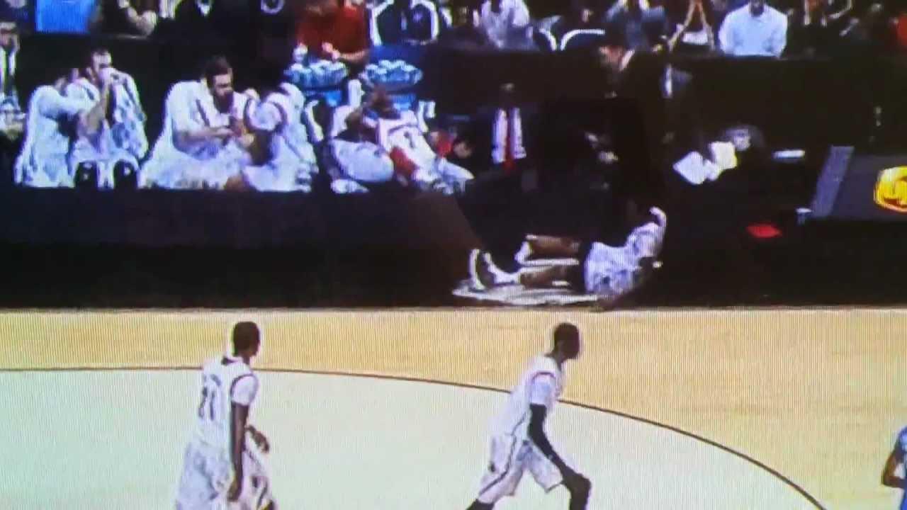 Kevin Ware Gruesome Broken Leg Injury Accident Louisville Vs Duke NCAA Basketball 31313 YouTube