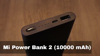 10000mAh Mi Power Bank 2 review in Hindi - पवर बॅंक