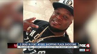 Two dead in shopping center shooting in Fort Myers Wednesday night
