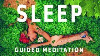 Guided meditation - sleep hypnosis: sleeping under a dome of positive energy