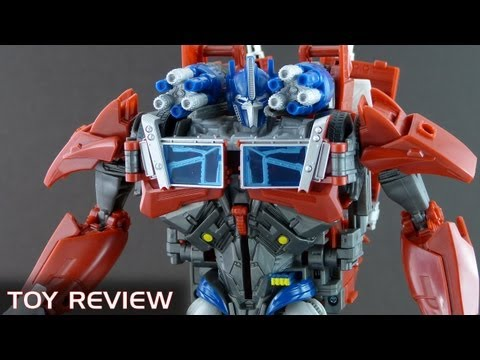 Weaponizer Optimus Prime - Wallas Toy Reviews - Transformers Prime (English)