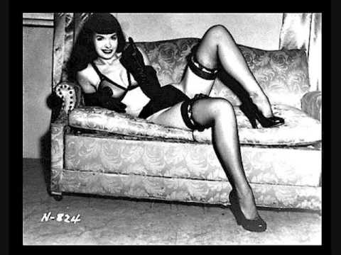 Bettie Page modeling tribute Video