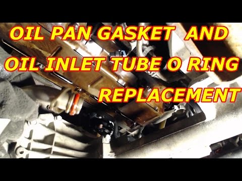 Oil Pan Gasket Replacement.Oil Pump Inlet Tube O Ring Replacement 2000 Chevy Tahoe 5.3