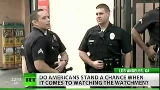 Police Don't Want To Be Caught Breaking The Law So Now They Outlaw Vid Cameras