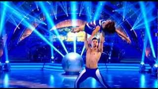 Lewis Smith and Flavia's Show Dance Strictly Come Dancing Final