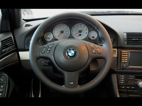 2000 BMW E39 M5 Steering Wheel Facelift