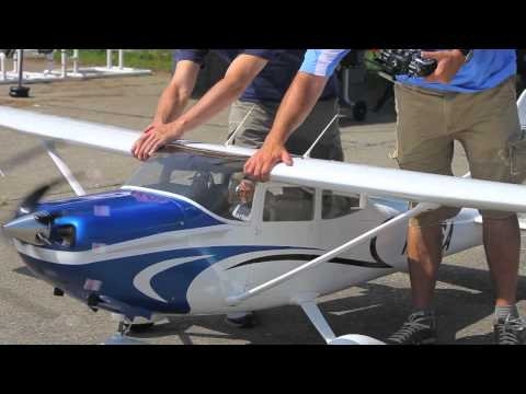 Tmmy Scale Composite 35% Cessna 182