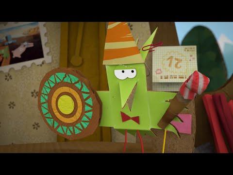 Бумажки - Сюрприз - Новые мультики для детей. Серия 68