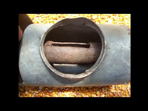 Как сделать молотилку для кукурузы
