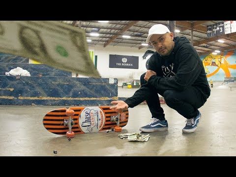 Chaz Ortiz Vs. The House - Skate Or Dice!