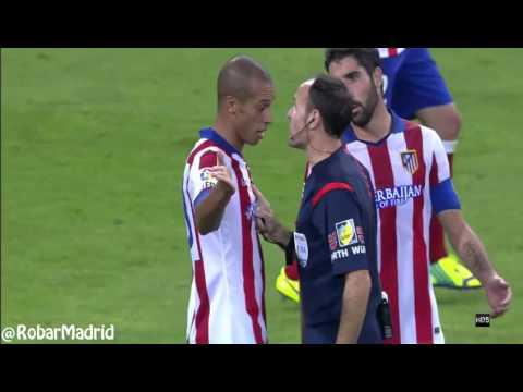 Agresión de Cristiano Ronaldo a João Miranda
