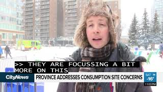 Province gives CityNews update on supervised consumption site concerns