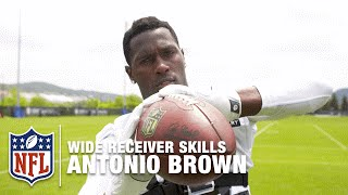 Antonio Brown GoPro Footage | How to Be a Great Wide Receiver | NFL