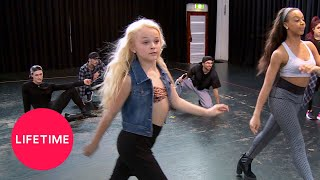 Dance Moms: Nia Rehearses Her Live Performance (Season 5 Flashback) | Lifetime