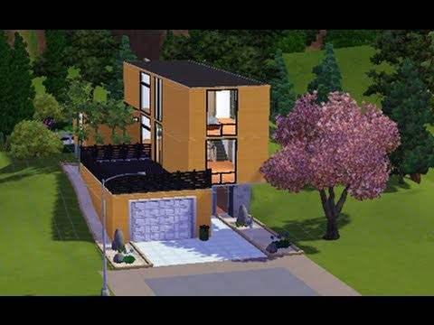 Building a Modern house #3 in The Sims 3