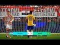 CROATIA Vs BRAZIL | Penalty Shootout | PES 2018 Gameplay PC