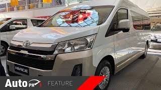 2019 Toyota Hiace GL Grandia Tourer - Exterior & Interior Feature (Philippines)