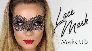 Lace Mask MakeUp Tutorial   Halloween Fancy Dress Masquerade   SnapChat Filter   Shonagh Scott