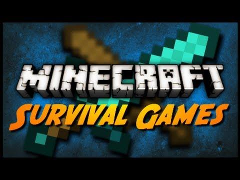 Survival Games - w/ SkyDoesMinecraft, GrailMore & Dawnables!