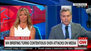 JIM ACOSTA AFTER TODAY'S PRESS BRIEFING: 'WE SHOULD MAKE SOME BUMPER STICKERS'