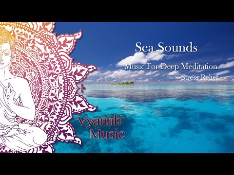 1 Hour Relaxing Music With Sea Sounds For Stress Relief
