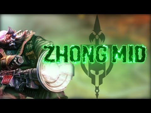 Zhong Kui Ranked Mid: TRUST IN THE INCON CARRY! - Smite